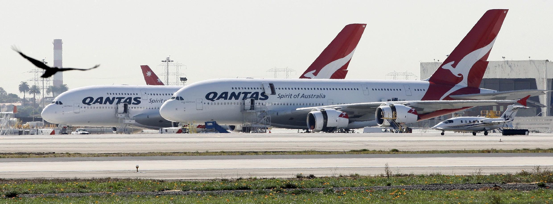 Ndege za shirika la Qantas nchini Australia