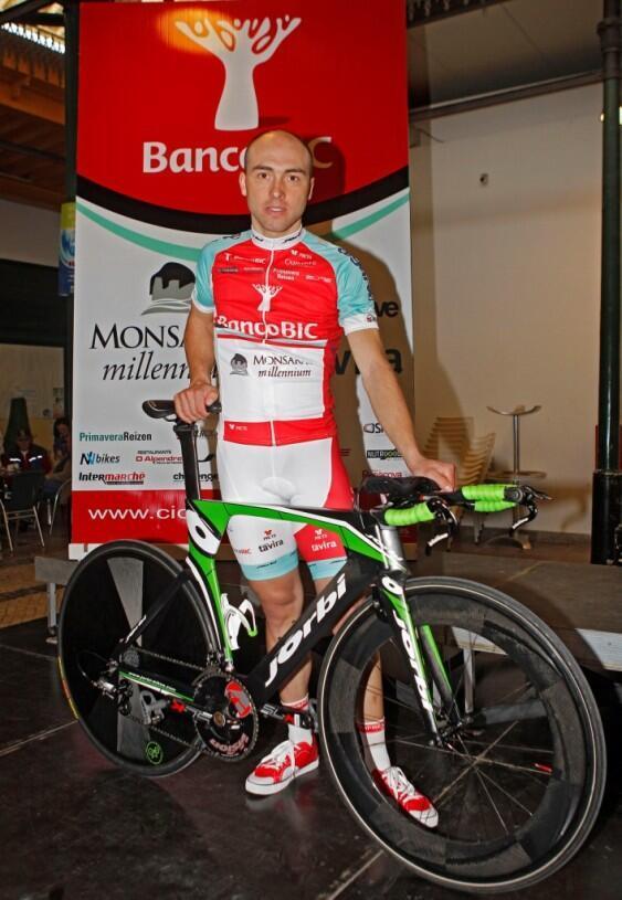 Manuel Cardoso, ciclista português da equipa Banco BIC-Carmim
