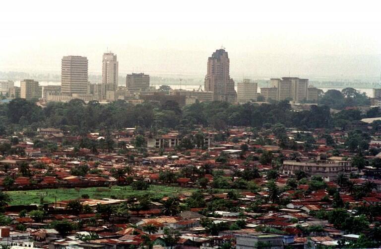 Vue général de Kinshasa, capitale de la RDC (photo d'illustration).