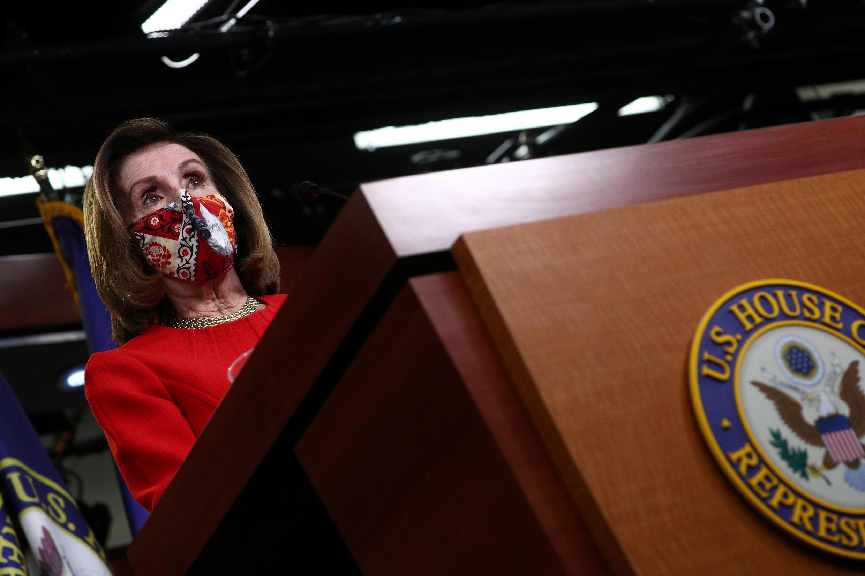 美国国会众议院议长佩洛西资料图片