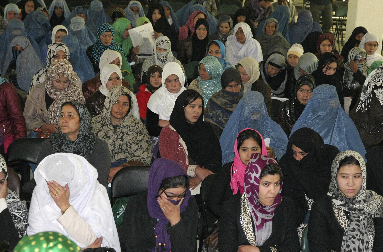 Matan kasar Afghanistan a lokacin gudanar da bukin ranar mata a yankin Ghazni a ranar 8 ga watan Maris