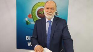 Bruno Dupont, arboriculteur, maraîcher, producteur de semences, et président de l'Interprofession des fruits et légumes frais de France (Interfel), président du Sival.