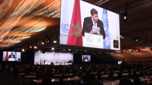 Sarney Filho defende, em sessão plenária da COP 22, uma transição para economias de baixo carbono enquanto se combate a pobreza.