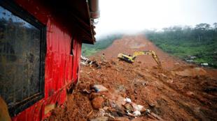 La catastrophe en Sierra Leone est l'une des plus importantes de ces 20 dernières années.