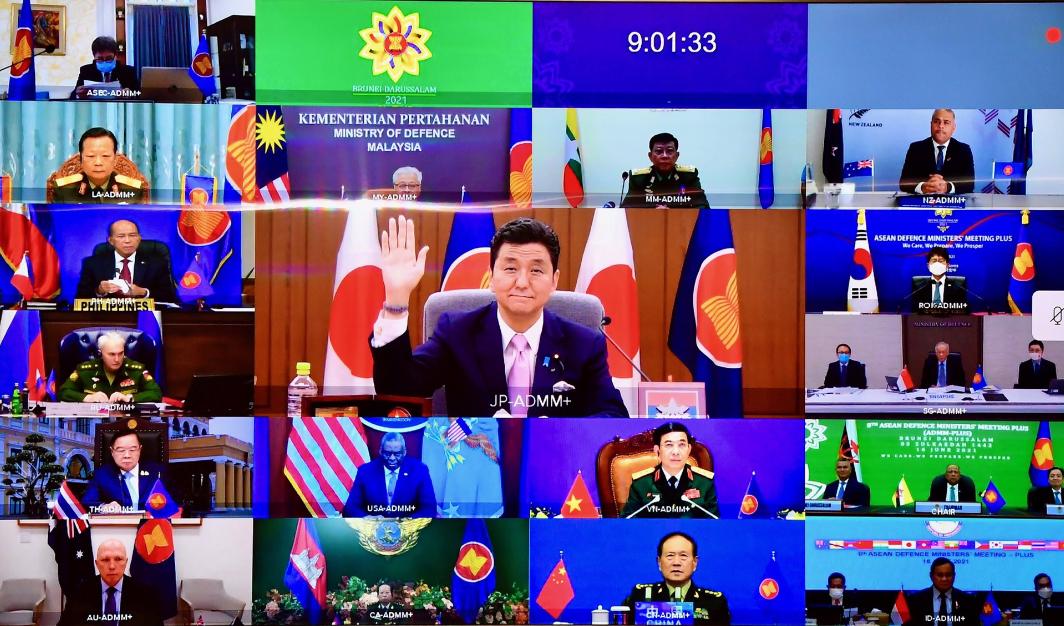 日防相出席東盟防長擴大會議