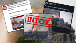 El incendio de Notre-Dame dio lugar a rumores y desinformación.