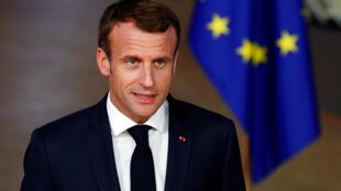 O presidente francês Emmanuel Macron diz que pretende manter parceria com o Brasil depois da eleição