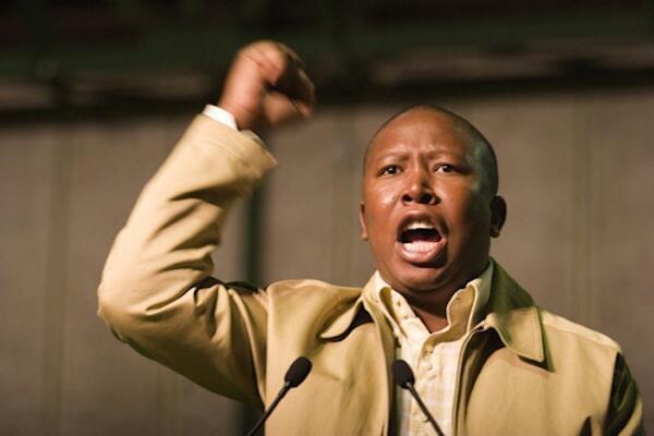 Julius Malema Shugaban Matasan Jam'iyyar ANC mai murabus a Afrika ta Kudu