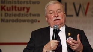 Ông Lech Walesa, cựu tổng thống, nguyên lãnh đạo Công Đoàn Đoàn Kết Ba Lan, Varxava, (ảnh chụp ngày 13/12/2011)