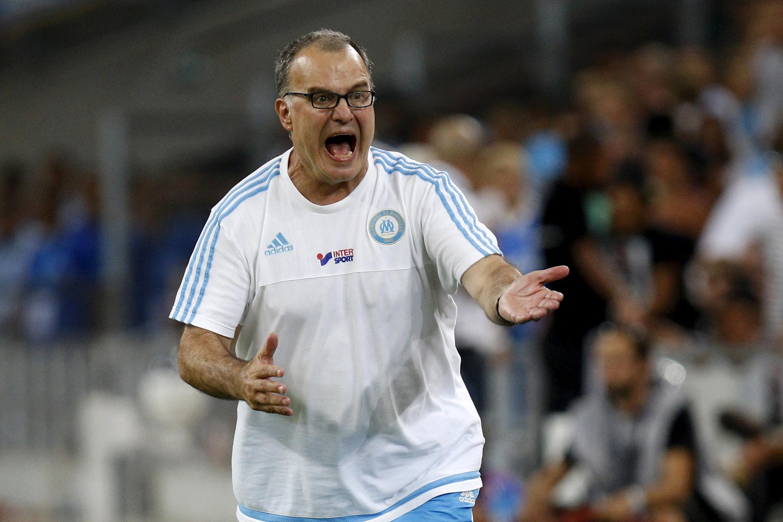 """Marcelo Bielsa, """"el loco"""", não é mais treinador do Olympique de Marselha."""