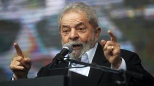 L'ancien président Lula à Buenos Aires.