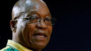 Le président sud-africain Jacob Zuma en décembre 2017.