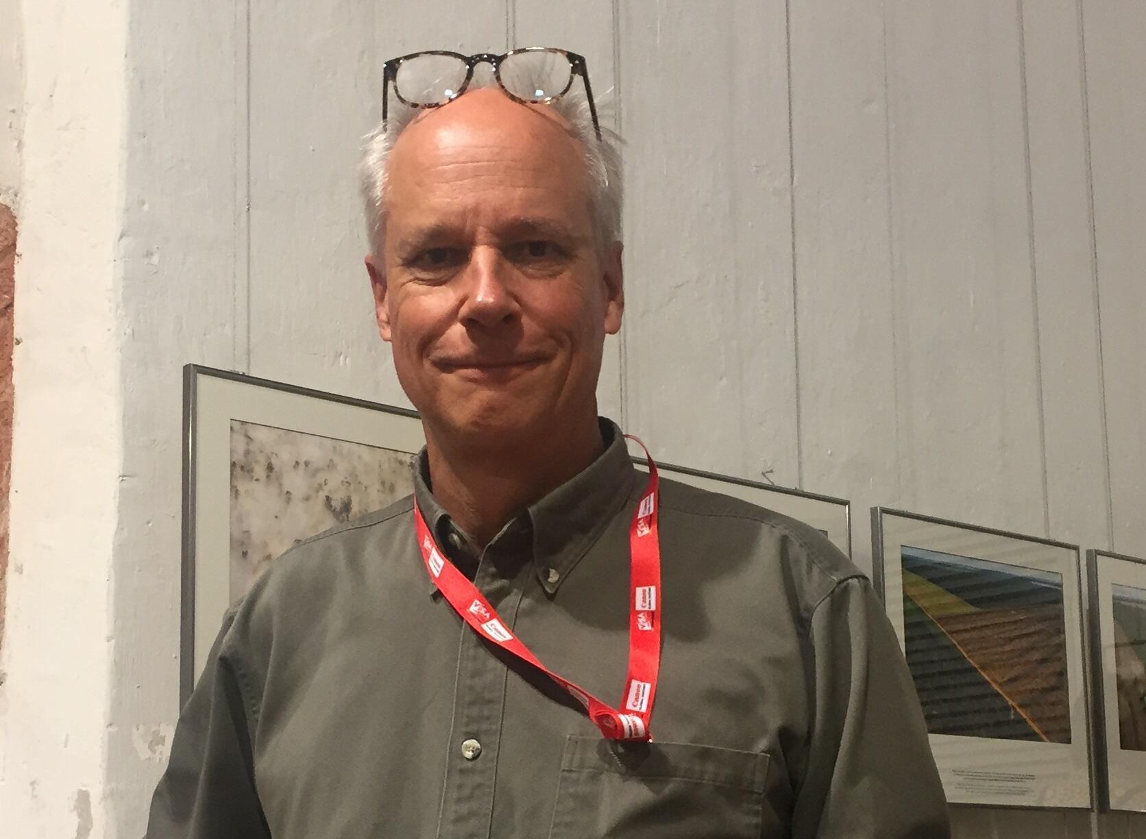 George Steinmetz, em Perpignan.
