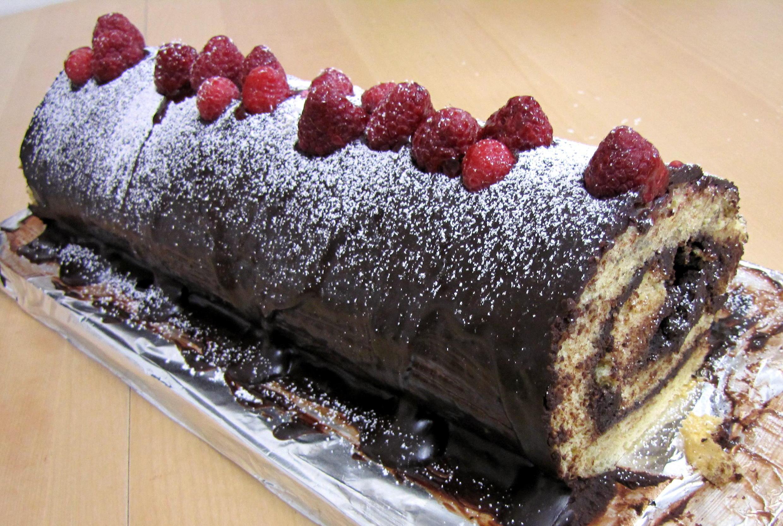 法國聖誕節傳統糕點劈柴蛋糕