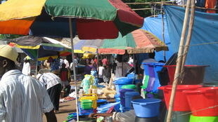 Mercado no norte da Guiné-Bissau
