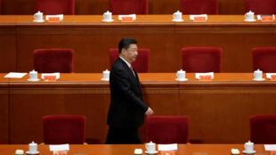 Xi Jinping, président de la République populaire de Chine, du Parti communiste et de la Commission militaire centrale du régime. Pékin, le 11 novembre 2016.