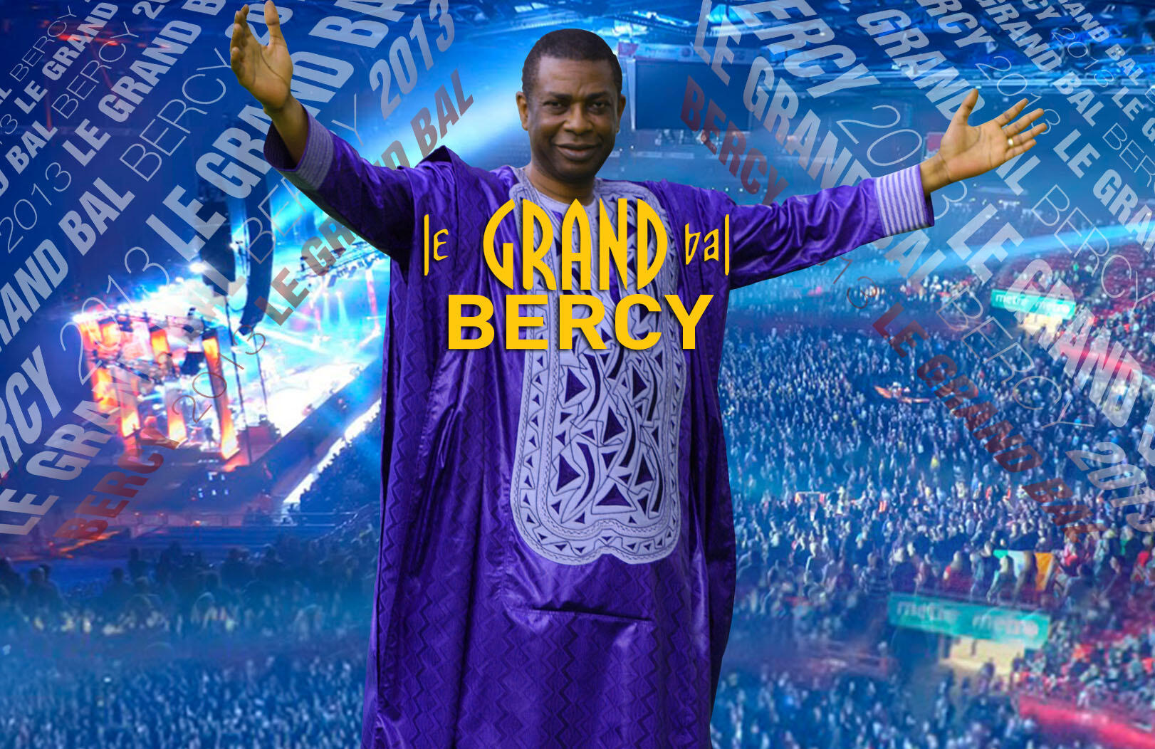Youssou N'Dour revient sur les planches de son Grand bal à Bercy ce samedi 12 octobre 2013, pour une soirée exceptionnelle