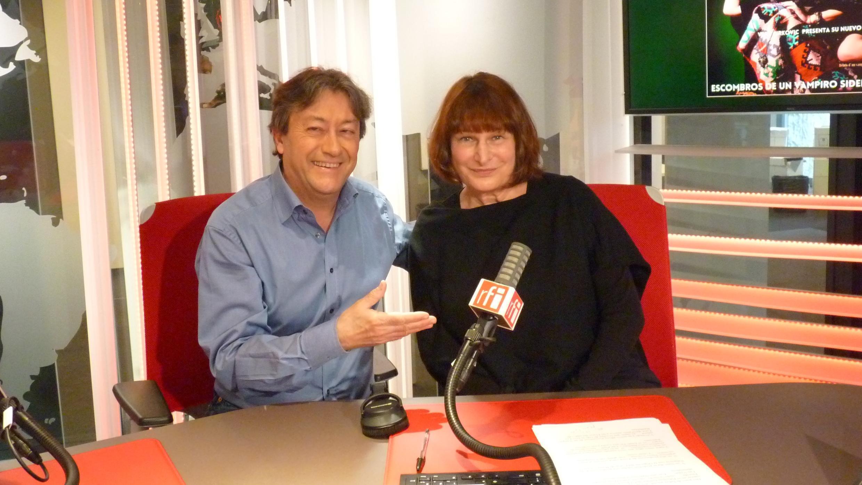 Vera Cirkovic y Jordi Batallé en RFI