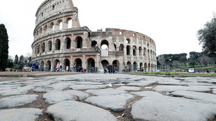 因新冠疫情意大利罗马游客稀少,罗马,2020年3月2日。
