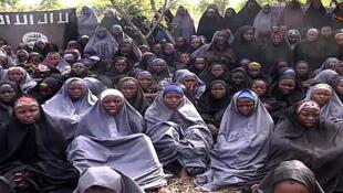 Estudantes sequestradas pelo Boko Haram na Nigéria, em 14 de abril de 2014.