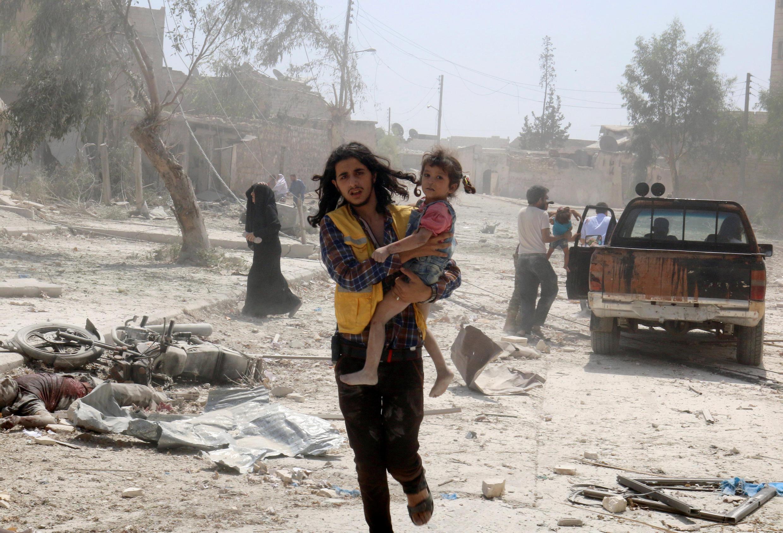 Quelque 1,5 million de personnes sont prises au piège à Alep depuis l'intensification des combats à la mi-juillet entre rebelles et forces du régime syrien.