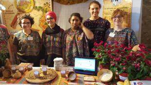 Un groupe d'étudiants de l'école d'agro-alimentaire Agrocampus de Rennes.