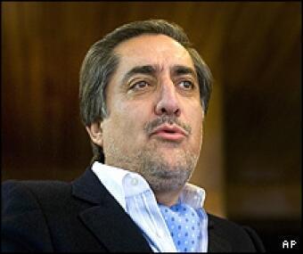 داکتر عبدالله عبدالله، رهبر دوره ای شورای رهبری ائتلاف ملی افغانستان