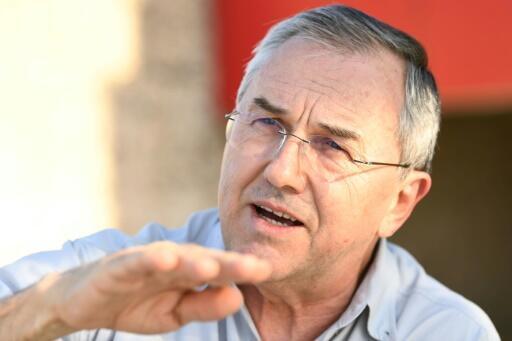 O jornalista e escritor brasileiro Laurentino Gomes durante uma entrevista à AFP em Brasília, em outubro de 2019.