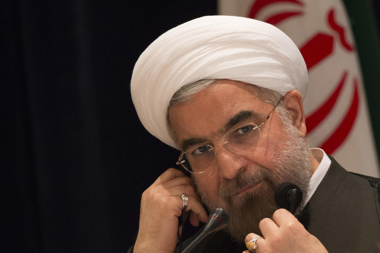 O presidente do Irã, Hassan Rohani, tenta dar uma imagem mais conciliadora de seu país à comunidade internacional.
