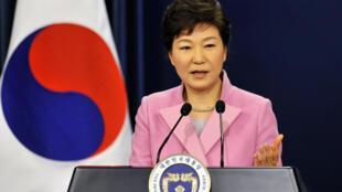 លោកស្រីប្រធានាធិបតីកូរ៉េខាងត្បូង Park Geun-Hye