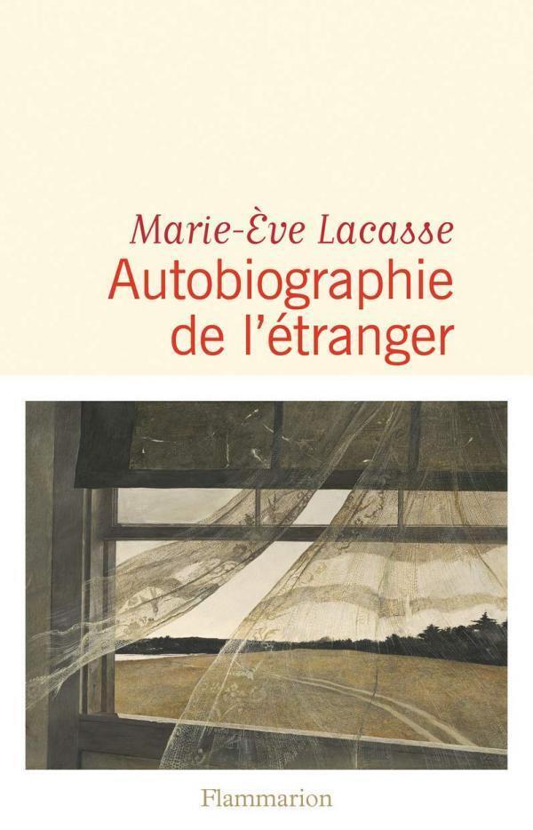Couverutre de l'auto-fiction de Marie-Ève Lacasse