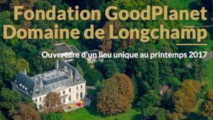 Domaine de longchamp pour fondation good planet