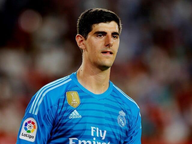 Mai tsaron ragar Real Madrid Thibaut Courtois.