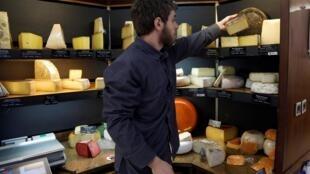 Les fromages font partie des produits sous la menace de taxes supplémentaires, qui seront au coeur des négociations entre l'Europe et les États-Unis (photo d'illustration).