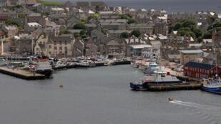 Iles Shetland.