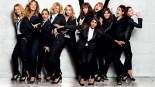 Casting du film «Sous les jupes des Filles» d'Audrey Dana.