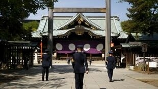 Đền Yashukuni, Tokyo - Ảnh chụp ngày 22/04/2016