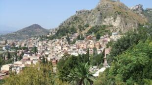 La ville de Taormina en Sicile, qui accueille le G7 2017.
