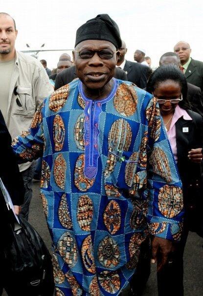 Olusegun Obasanjo, ex presidente nigeriano.