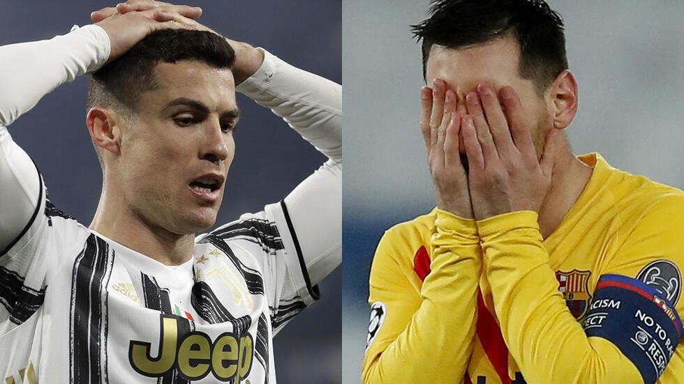 PHOTO Ronaldo et Messi éliminés