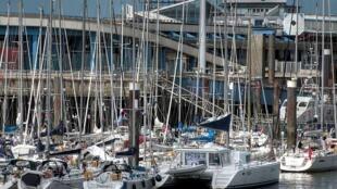 Porto de Boulogne-sur-Mer, no norte da França (Foto de arquivo)