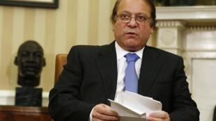 O primeiro-ministro paquistanês, Nawaz Sharif, era o principal alvo do ataque dos talibãs.