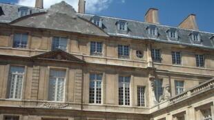 O museu Picasso, em Paris, antes da reforma.
