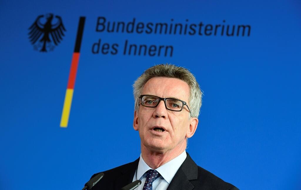 Thomas de Maizière, ministro do Interior alemão