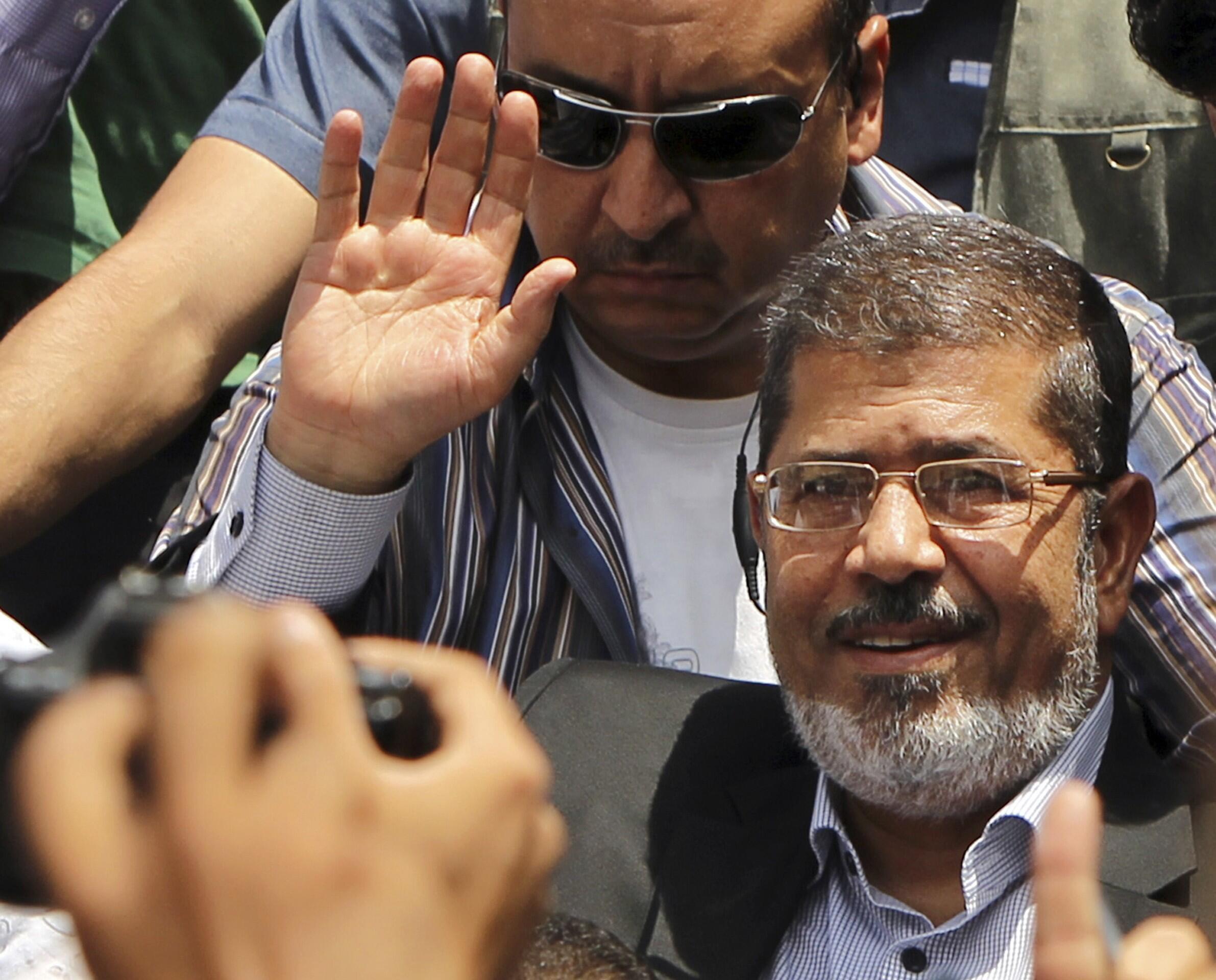 Shugaban kasar Egypt, Mohammed Morsi