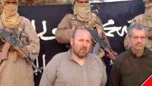 O francês Serge Lazarevic é mantido refém no Mali pelo grupo extremista Aqmi desde novembro de 2011.