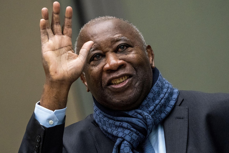 El expresidente marfileño Laurent Gbagbo antes de una audiencia en la CPI en La Haya, el 6 de febrero de 2020.