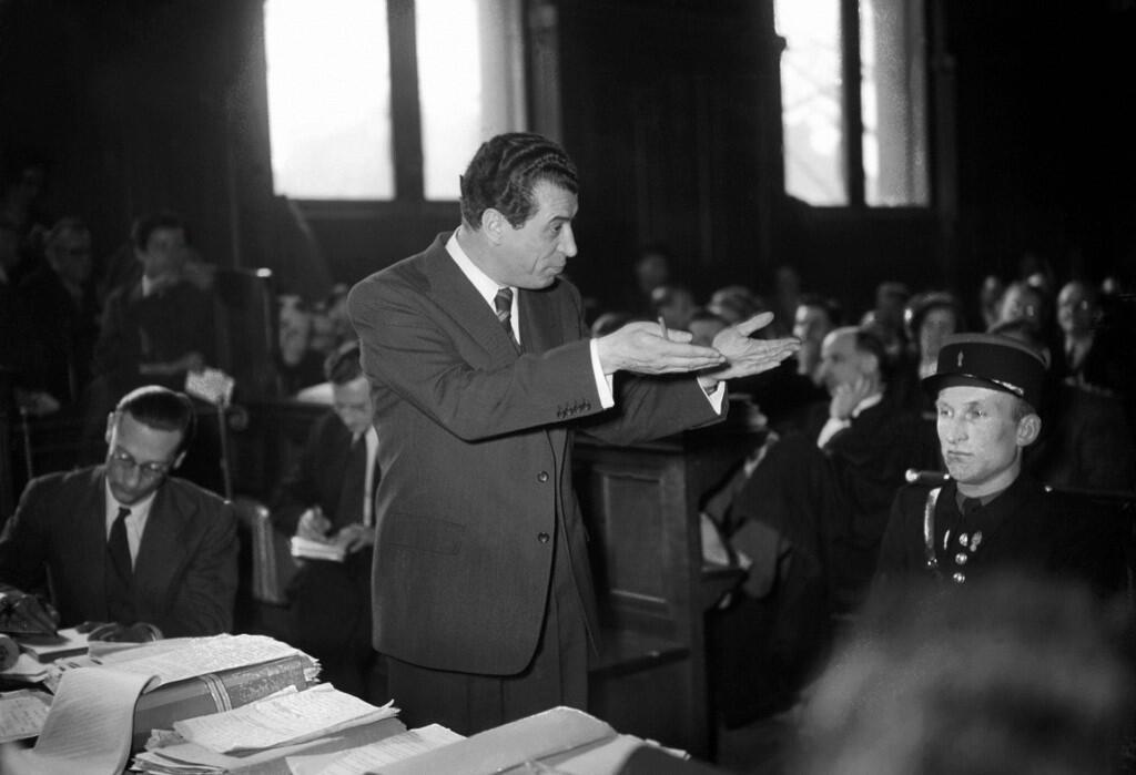 Виктор Кравченко на заседании суда в Париже, 1 февраля 1949