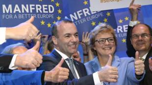 存檔圖片:歐洲人民黨領袖韋伯 Image d'archive:  Manfred Weber - Leader du Parti Populaire européen