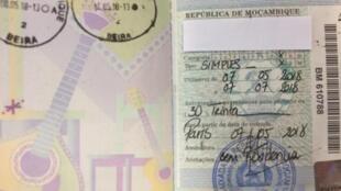 Moçambique passa a ter novo modelo de passaporte biométrico mais fiável